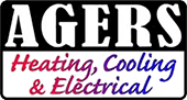 agers heating cooling electrical logo
