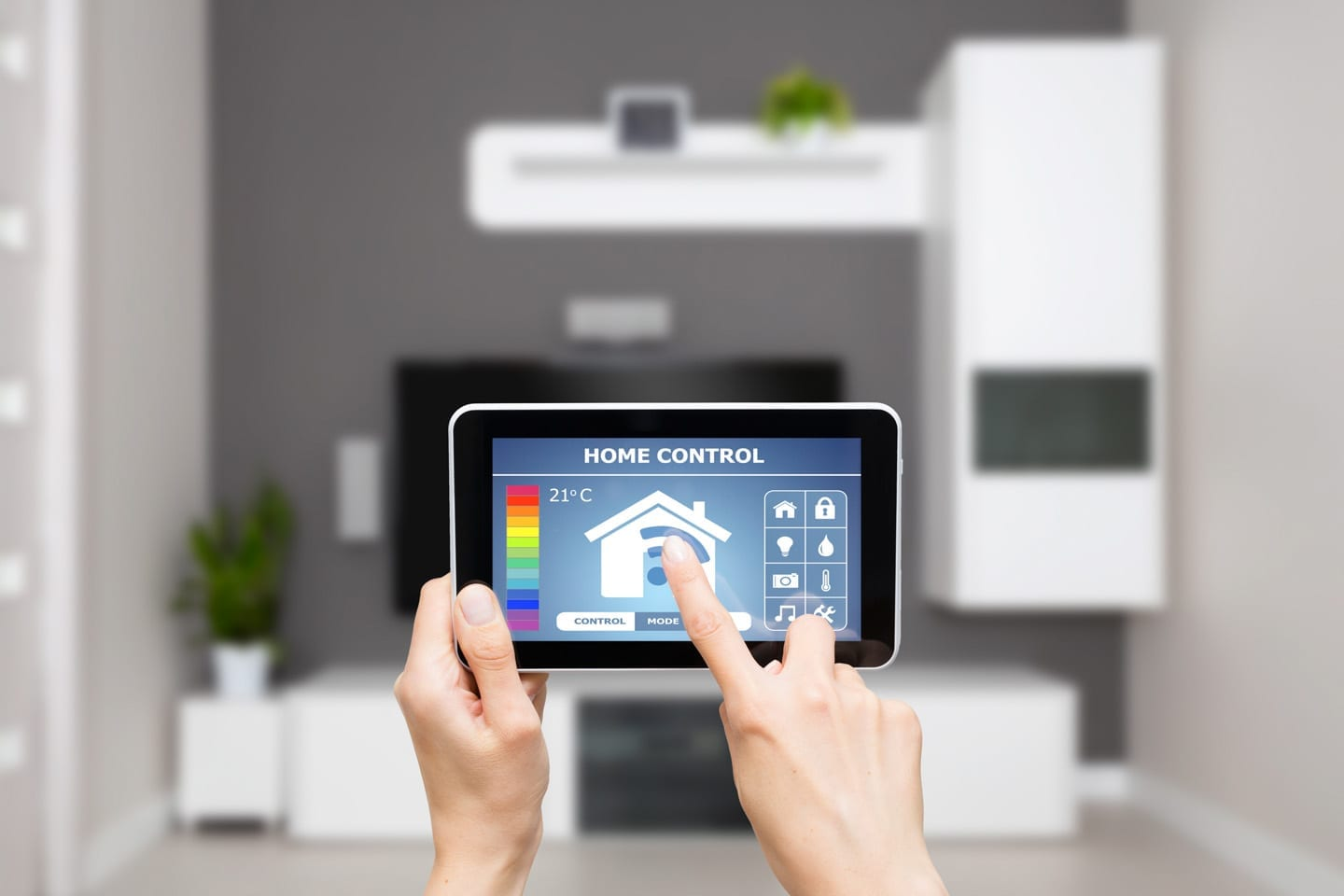 smart thermostat for accuracy and efficiency in the hom